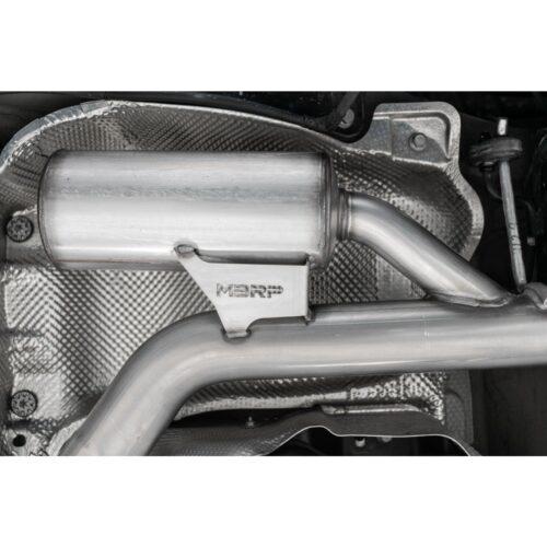 """MBRP Exhaust 3"""" Cat Back, Dual Split Rear, T304"""
