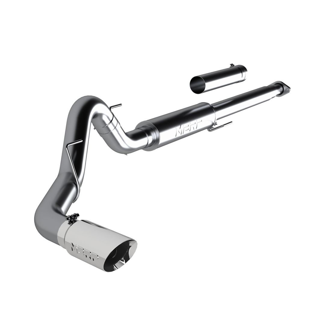 MBRP Exhaust 4in. Cat Back; Single; T304