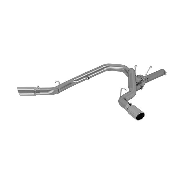 MBRP Exhaust 4in. Filter Back; Dual Side Exit; T409