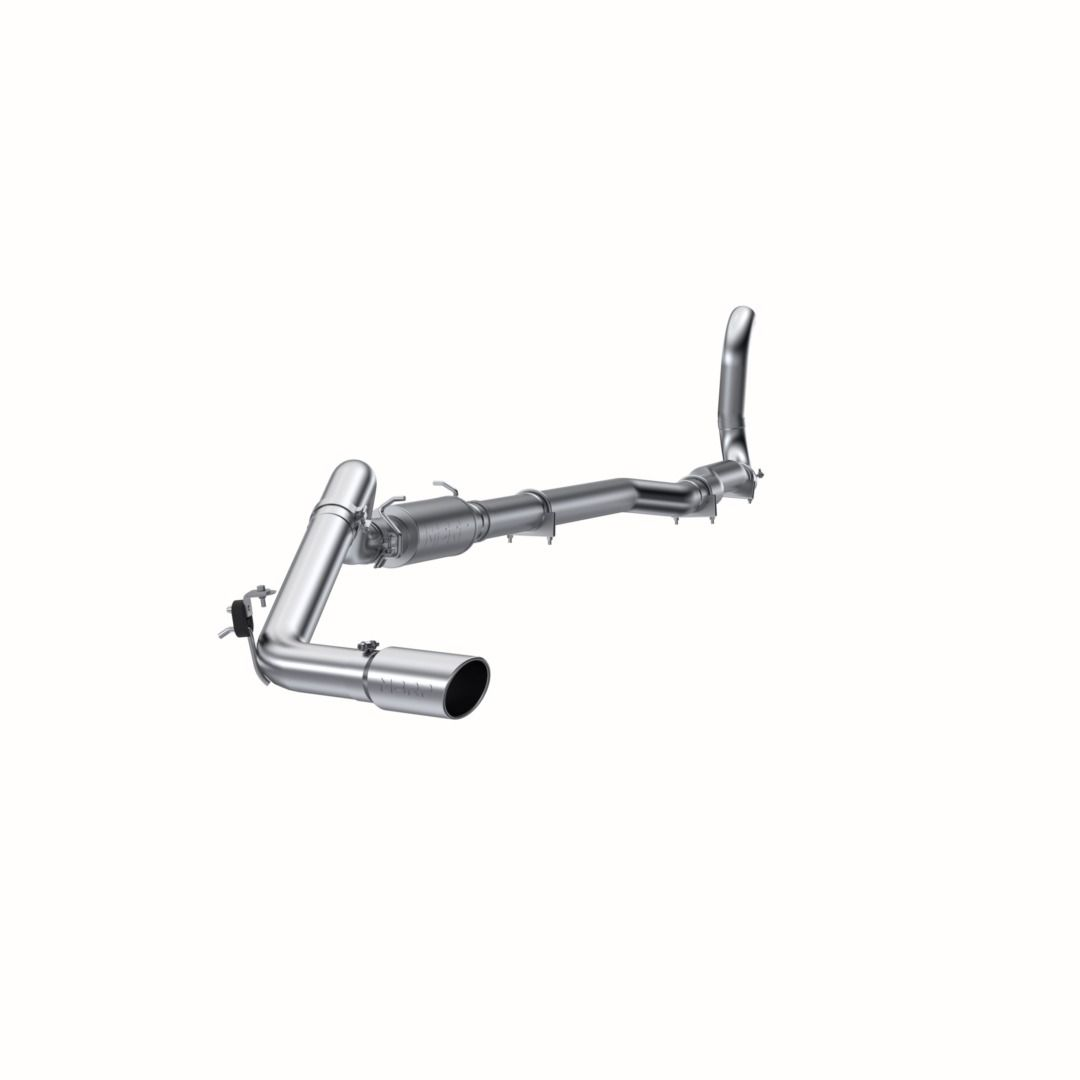 MBRP Exhaust 4in. Turbo Back; Single Side Exit (4WD only); T409