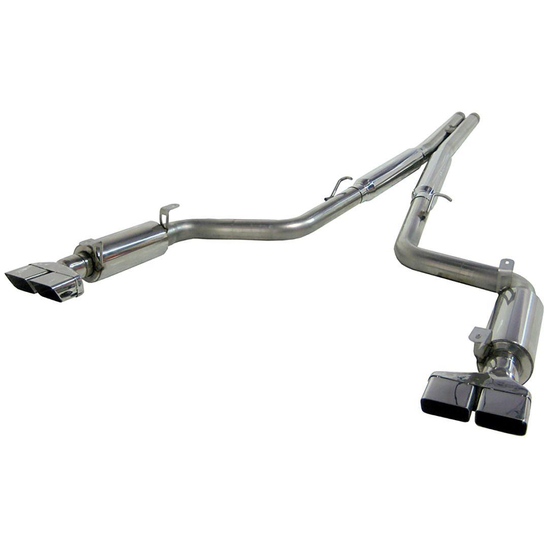 MBRP Exhaust 3in. Cat Back; Dual Split Rear; T409