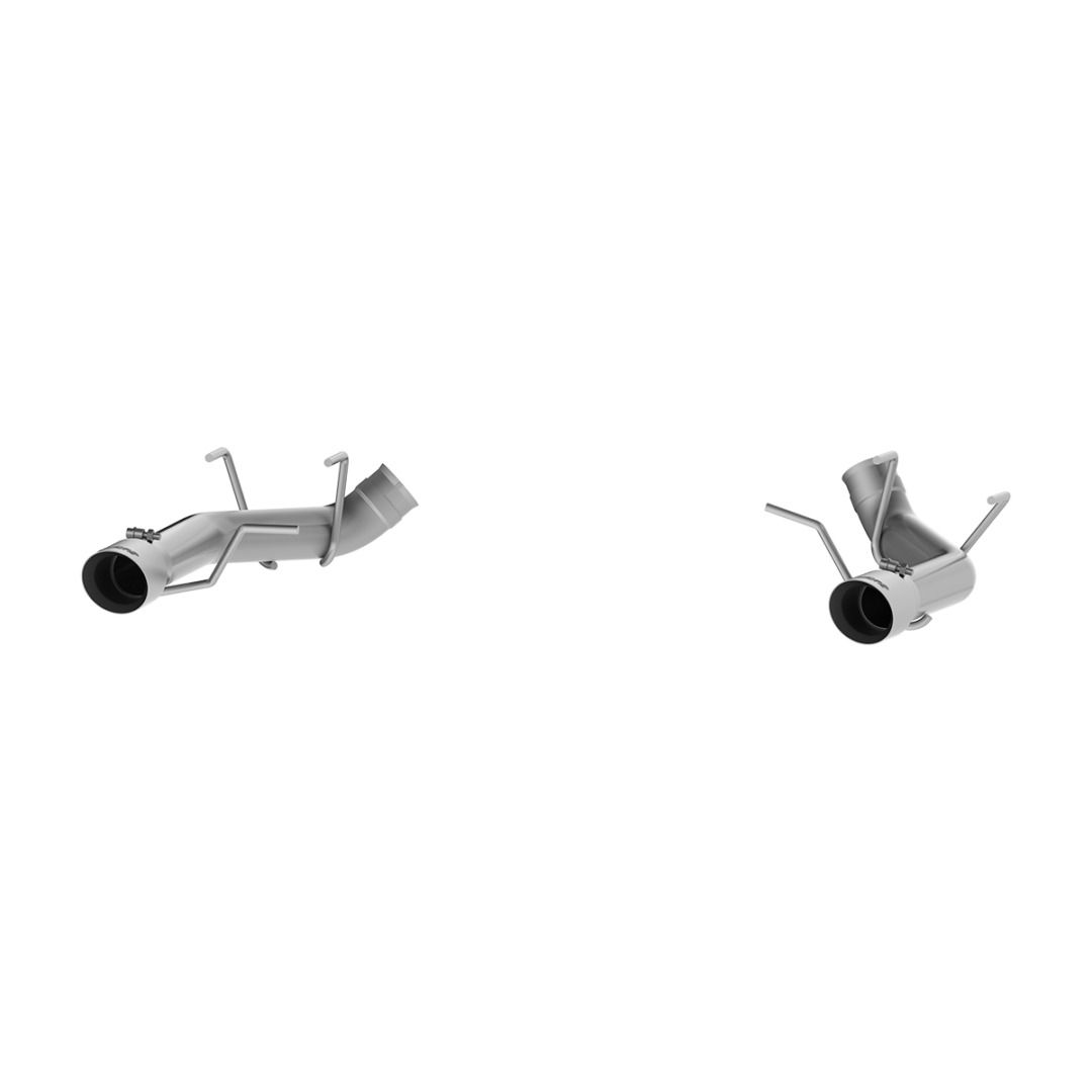 MBRP Exhaust 3in. Dual Axle Back; Muffler Delete; T304